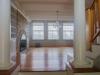 hardwood floors with posts