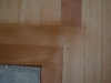Wood Floor Services sanded and applied a new finish to the corner hardwood flooring