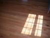 New installed hardwood floors