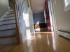 old hardwood floors with stairs