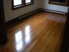 Looking much better after sanding and refinishing the floors