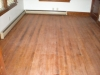 Dusty, faded, and scratched hardwood floors